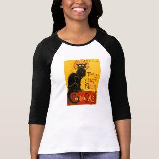 Le Chat Noir The Black Cat Art Nouveau Vintage Shirt