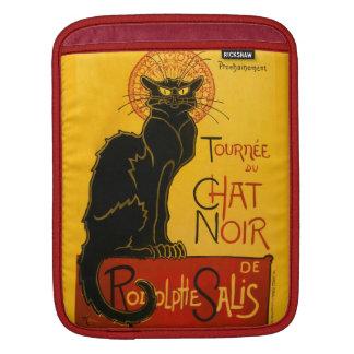 Le Chat Noir The Black Cat Art Nouveau Vintage Sleeve For iPads