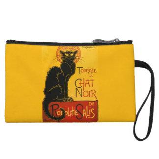 Le Chat Noir The Black Cat Art Nouveau Vintage Wristlets