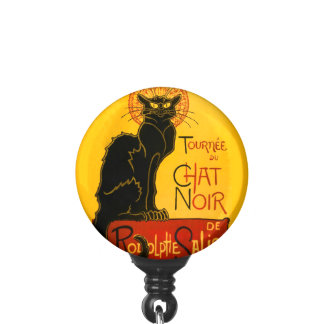 Le Chat Noir The Black Cat Badge Holder
