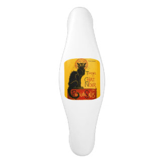 Le Chat Noir The Black Cat Ceramic Cabinet Pull