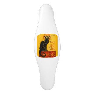 Le Chat Noir The Black Cat Ceramic Cabinet Pull