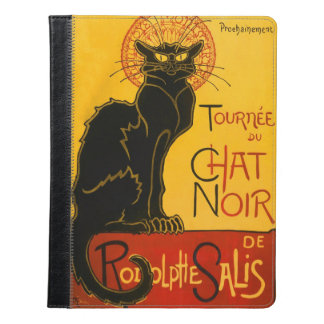 Le Chat Noir The Black Cat iPad Case
