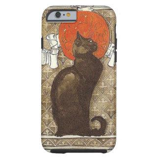LE CHAT NOIR THÉOPHILE STEINLEN BLACK CAT FRENCH TOUGH iPhone 6 CASE