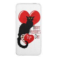 Le Chat Noir Valentine iPhone 5 Pouch
