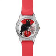 Le Chat Noir Valentine Watch