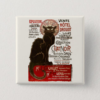 Le Chat Noir, Vente Hôtel Drouot Button