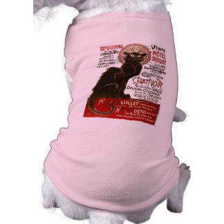 Le Chat Noir, Vente Hôtel Drouot Pet T Shirt