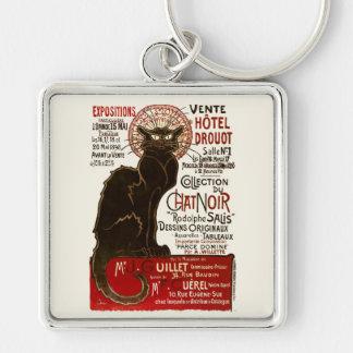 Le Chat Noir, Vente Hôtel Drouot Key Chain