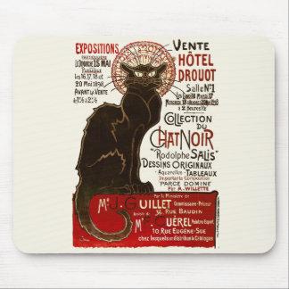Le Chat Noir, Vente Hôtel Drouot Mouse Pad