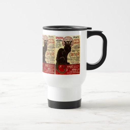 Le Chat Noir, Vente Hôtel Drouot Mugs