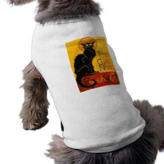 Le Chat Noir Vintage Black Cat Art Nouveau Retro Dog Clothes