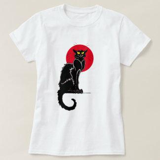 Le Chat Noir Vintage Cat Art T-Shirt