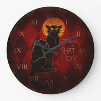 Le Chat Noir Wall Clock