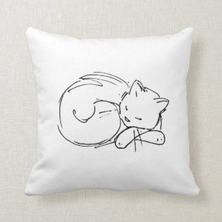 Le Chat Pillow Almohada