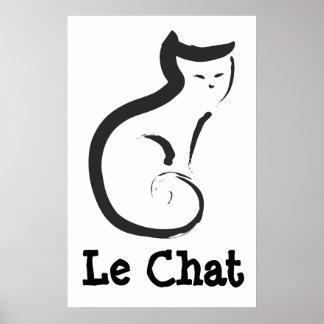 Le Chat Póster