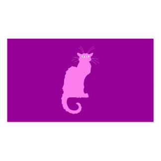 Le Chat Rose Business Card