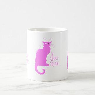 Le Chat Rose Coffee Mug