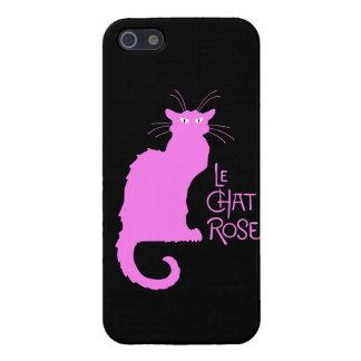 Le Chat Rose iPhone SE/5/5s Case
