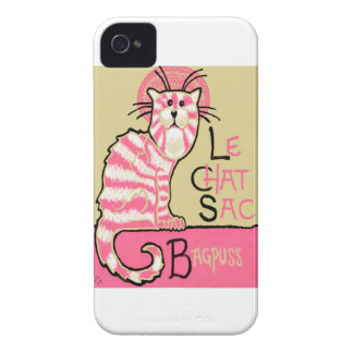 Le Chat Sac iPhone 4 Case