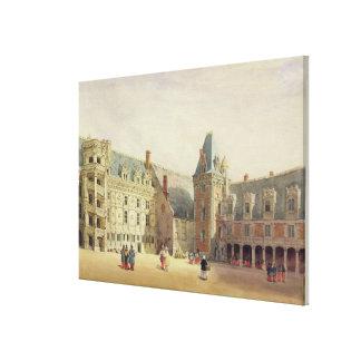 Le Chateau de Blois (w/c on paper) Canvas Print
