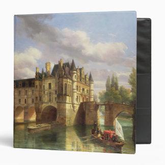Le Chateau de Chenonceau, 1843 (oil on canvas) 3 Ring Binder