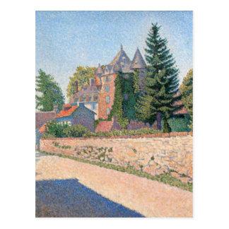Le Chateau de Comblat - Paul Signac Postcards