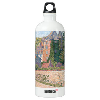 Le Chateau de Comblat - Paul Signac Water Bottle