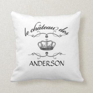 le chateau des YOUR NAME Throw Pillows