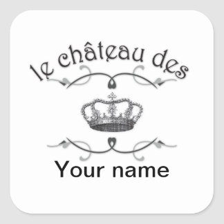 le chateau des YOUR NAME v.2 Stickers