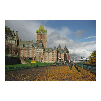 Le Chateau Frontenac, Quebec, Canada Poster