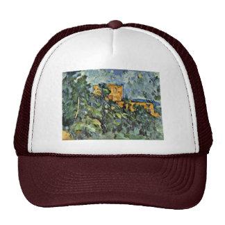 Le Château Noir By Paul Cézanne Best Quality Mesh Hat