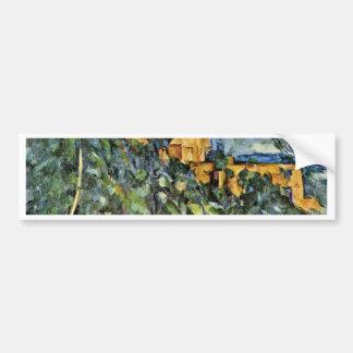 Le Château Noir By Paul Cézanne (Best Quality) Car Bumper Sticker