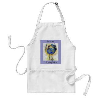 le chef le coq bleu apron - Customized