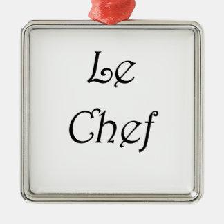 Le Chef Metal Ornament