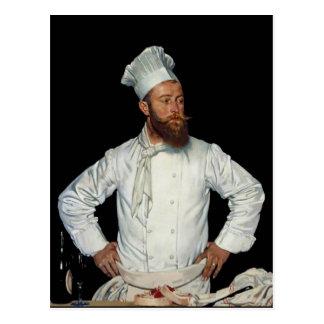 Le Chef por Orpen Tarjeta Postal