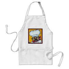 Le Chef Pug Apron