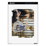 Le Chemin de fer 1873 by Edouard Manet Decals For iPad 3