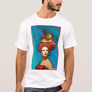 """""""Le Cheveux Rouges"""" Ladies Tonal Stripe T-Shirt"""