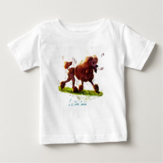 Le Chien Caniche Baby T-Shirt