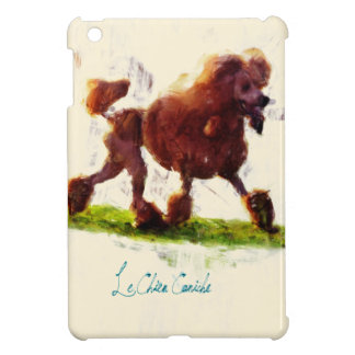 Le Chien Caniche iPad Mini Cases