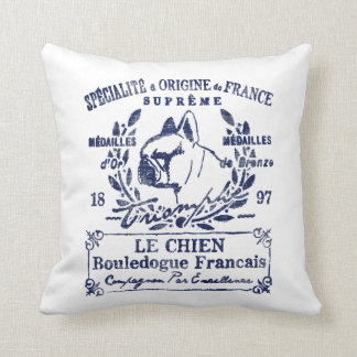 Le Chien Throw Pillow