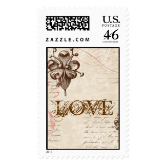 Le Chocolatier - Rose Save the Date Postage
