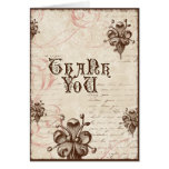 Le Chocolatier - Rose, Thank You Notes Stationery Note Card