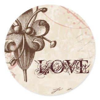 Le Chocolatier - Rose, Wedding Seals sticker