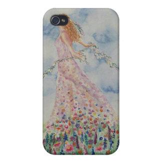 Le Ciel et les Fleurs iPhone 4 Cases
