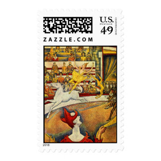 Le Cirque Postage Stamps