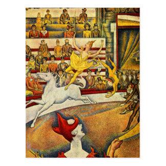 Le Cirque Postcard