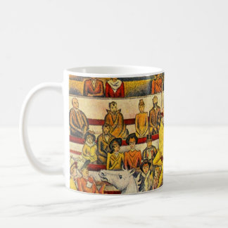 Le Cirque ( The Circus ) by Georges Seurat Coffee Mug