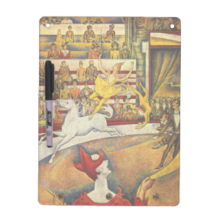Le Cirque ( The Circus ) by Georges Seurat Dry Erase Board